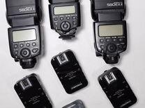 Вспышки Canon 580ex II, 430ex, радиосинхронизаторы