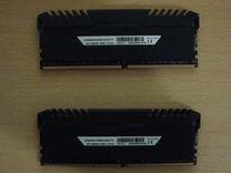DDR4 Corsair 3200MHz (cl16) 8+8Gb RGB