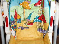Высокий стульчик-шезлонг Chicco Polly