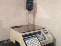 Весы для магазина с печатью CAS-LP-15
