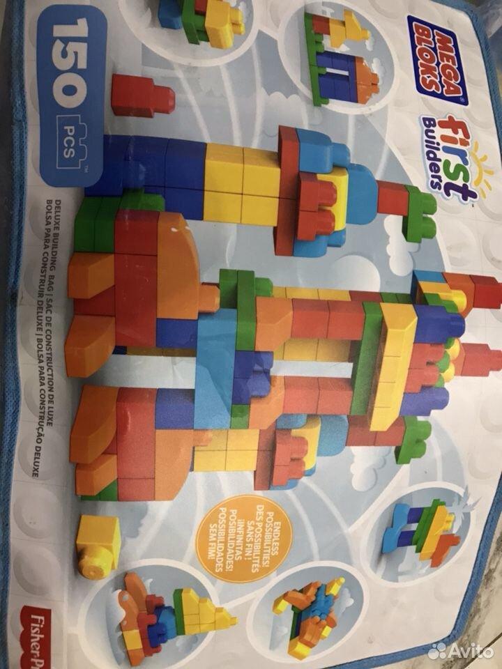 Конструктор крупный Mega bloks  89108585828 купить 2