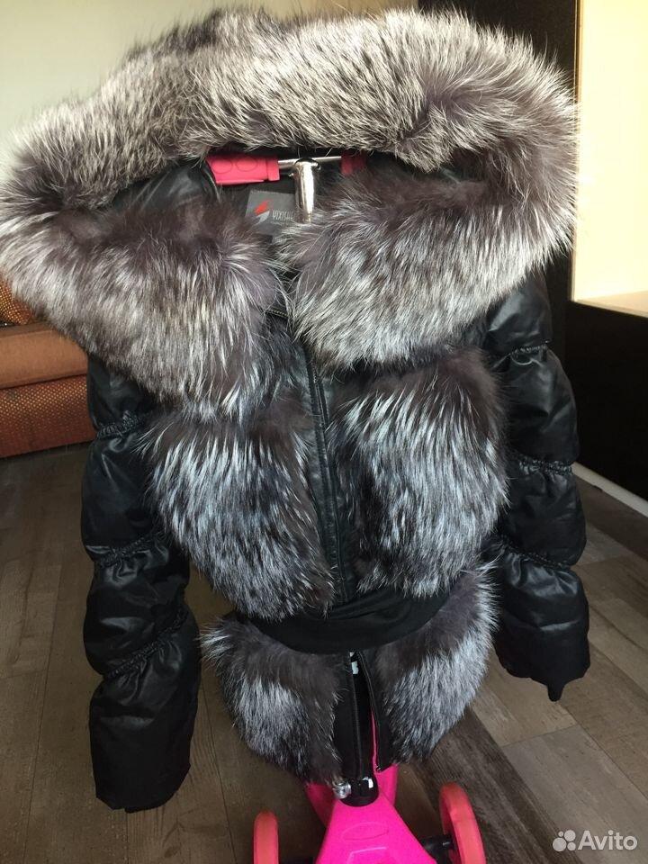Куртка чернобурка  89025636960 купить 1