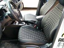 Автомобильные чехлы из эко-кожи и ткани