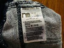 Трикотажные джинсы брюки Mothercare 18-24 мес