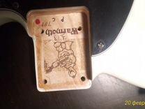 Гитара warmoth telecaster USA