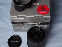 Tamron 18-200mm F/3.5-6.3 Di VC — Фототехника в Москве