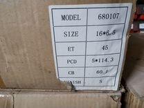 Диск R16 5x114,3 6,5x16 ET45 d60,1 toyota