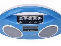 Колонка WS-1800B bluetooth USB цветомузыка