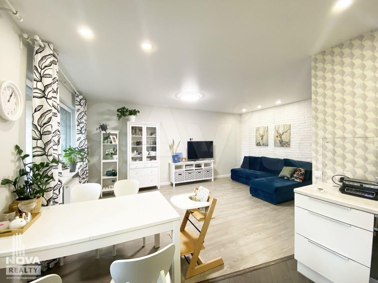 3-к квартира, 72 м², 4/12 эт.  89814010721 купить 1